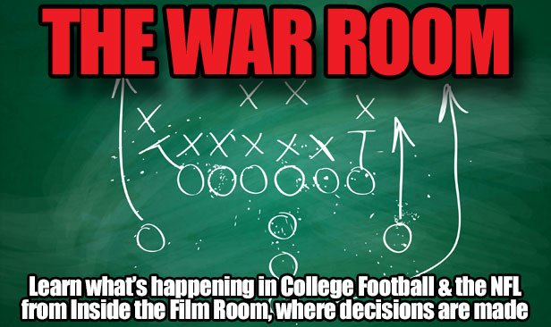 Chris Landry Football War Room Logo