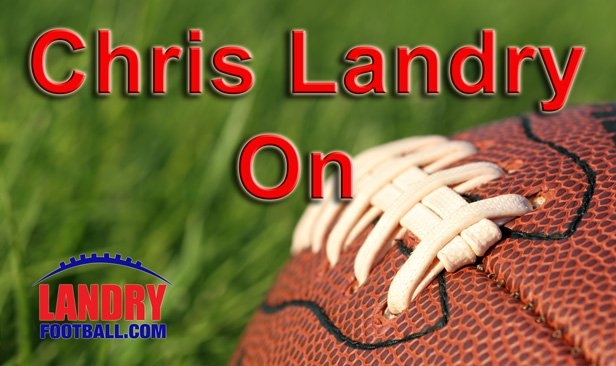 Chris Landry on Football Logo