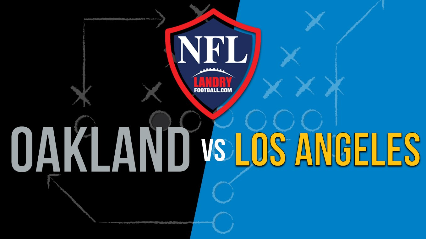 Overview Recap Of Chargers Vs Raiders Chris Landry Football