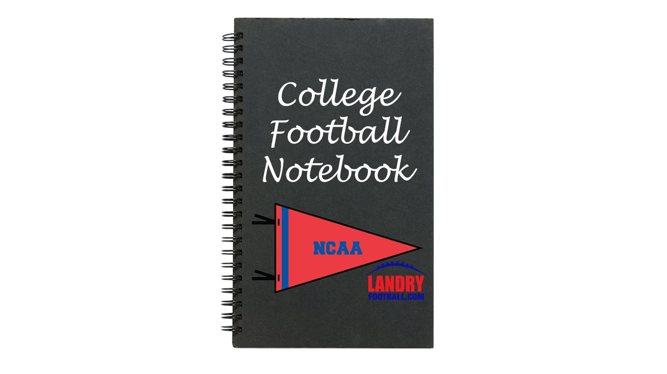 Chris Landry's Daily NCAA Notebook