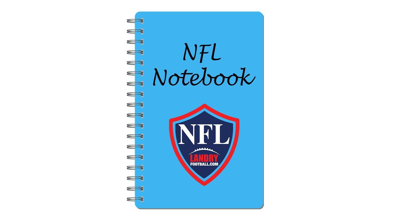 Chris Landry's Daily NFL Notebook