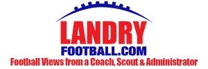 LandryFootball.com Logo and Tag Line