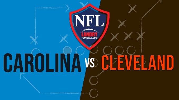 FILM ROOM GAME RECAP-Panthers 20 vs Browns 26 - Chris Landry Football 59864fdf6